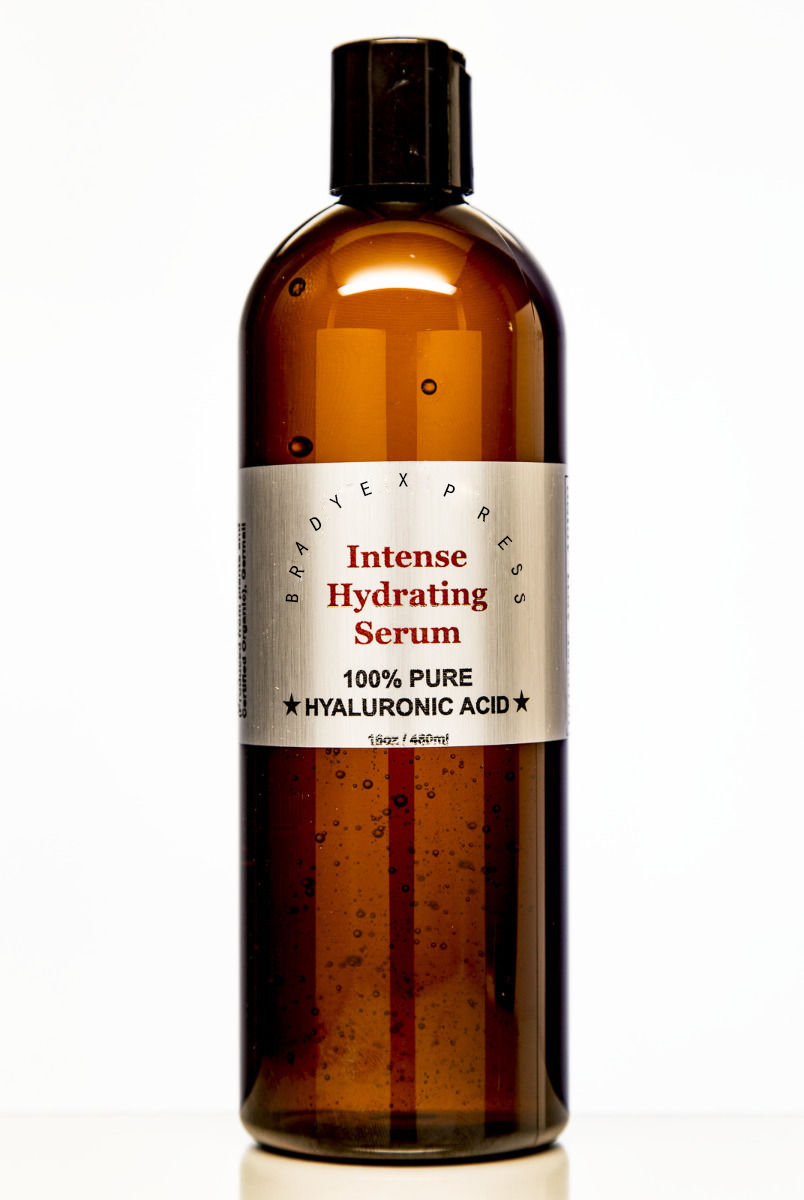 NEW 100% Pure HYALURONIC ACID SERUM- Boosts Collagen- Intense Hydration- 16oz Refill FREE SHIPPING