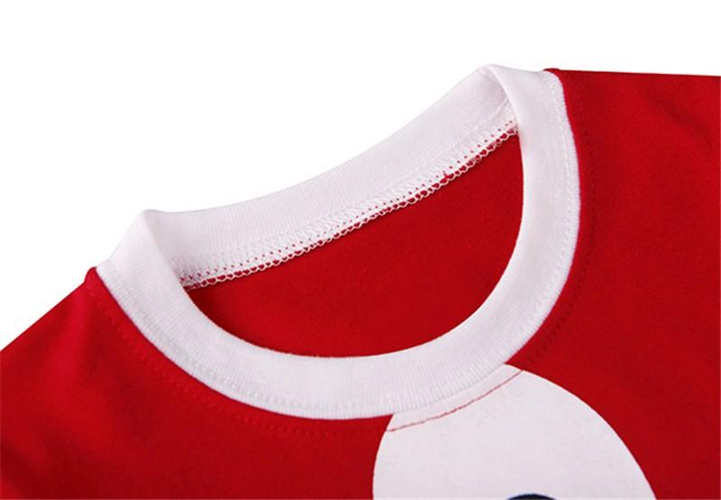 e3bedf3298204 2017 New Baby Christmas Clothes Sets Santa Claus Suit Bebe Brand Clothing  Set Tops+Pant 2pcs Boys Christmas Costume Kids Clothes