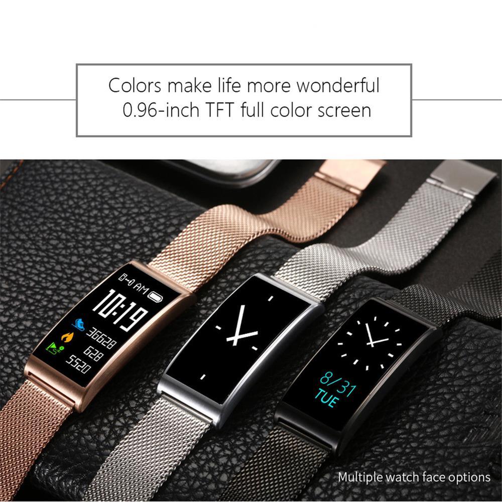 Timethinker X3 montre intelligente Bracelet hommes femmes X3 Smartwatch Bluetooth pression artérielle moniteur de fréquence cardiaque IP68 Tracker de Fitness-in Montres connectées from Electronique    2