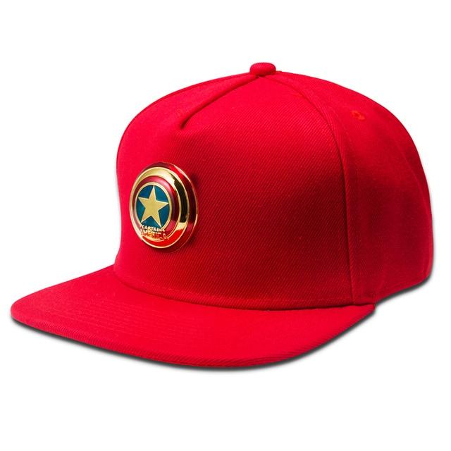Metal label Logo Hip Hop Hat For Men Women Fashion Cotton 5 Panel Adult Cap Hat Golden Silvery baseball Snapback Flat Cap Adjus