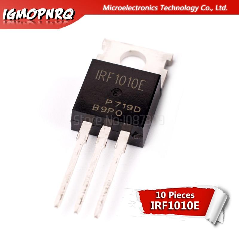 10pcs IRF1010E F1010 IRF1010EPBF MOSFET MOSFT 60V 81A 12mOhm 86.6nC TO-220 new original