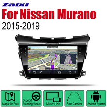 ZaiXi Android Car Radio Stereo GPS Navigation For Nissan Murano 2015~2019 Bluetooth wifi 2din Multimedia Player
