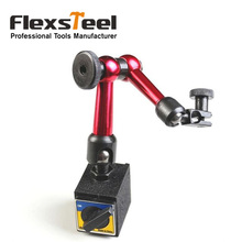 3-joint Mini Flexible Gauge Stand Holder Magnetic Base Holder for Digital Level Dial Test Indicator & Dial Test Indicator Tool universal metal magnetic base for lever dial test gauge indicator mayitr precision rotary magnetic stand holder measuring tool