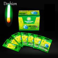 Deshion 10/20pc 4.5*37mm Night Fishing Luminous Float Fluorescent Light Stick Glowworm Glow Stick Fishing Tools star light pesca все цены
