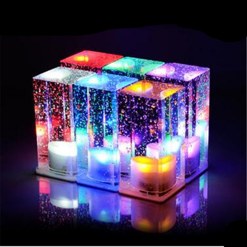 Bubble Crystal RGB Chargeable Led Bar Table Lamp with Adjustable Switch Modern Creative Crystal Atmosphere Night Light 1328 creative waterproof egg shape rgb led table lamp with remote control for bedroom bar restaurant chargeable night light 1330