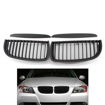 1 paire de Grilles de calandre pour calandre pour BMW E90 2005-2008 Modification des Grilles de course de style automobile