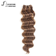 Joedir Hair Forfarvede brasilianske Remy Human Hair Weave Nature Deep Wave P4 / 30 # P1B-30 Farve P4-27 Bundle Deal Gratis Levering