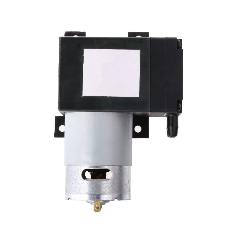 12V Mini Vacuum Pump 8L/min High Pressure Suction Diaphragm Pumps with Holder 8l m 150kpa pressure electric diaphragm brushless juicer vacuum pump