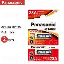 2 шт./лот 12 вольтовый Panasonic A23 23A Ультра щелочные батареи/сигнал тревоги батареи