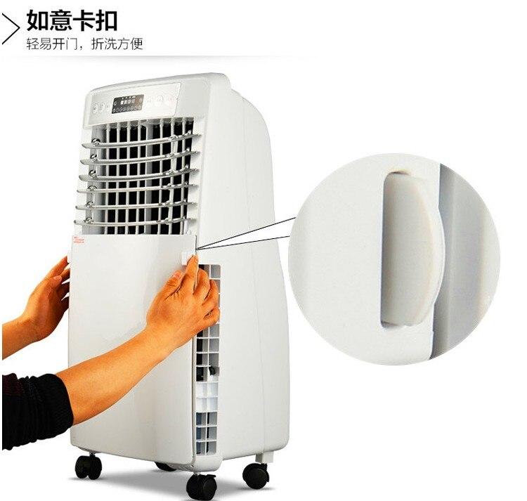 Klimaanlagen 220 V 900 W Ipx4 Mini Klimaanlage Desktops Fenster Klimaanlage Haushalts Luftkühler Klimaanlage Mit Fernbedienung Neueste Technik