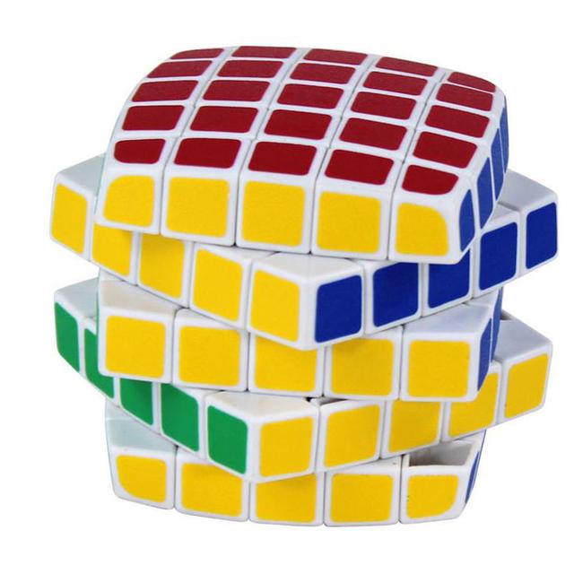 2016 Profesional 5x5x5 Cubo Mágico Puzzle Cubo de la Velocidad Juguetes Clásicos de Aprendizaje y Educación Para niños