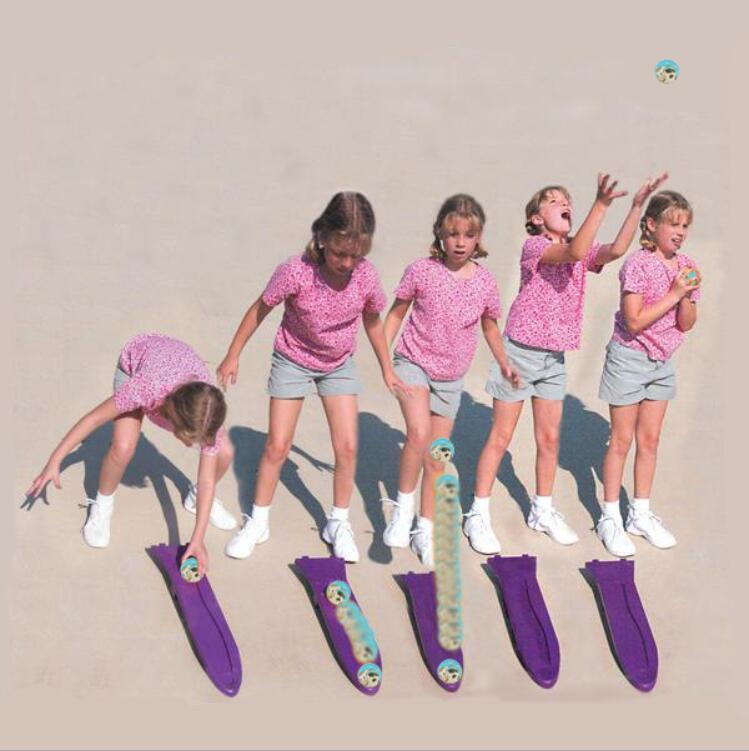 Children hand throw ball fun fitness ball foot throw throw the ball sensory system training outdoor sports toys