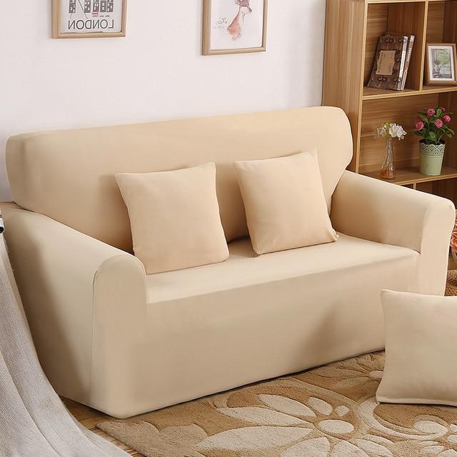 Einfache Und Elegante One Sitzer Liege Abdeckung Retro Liege Sofa Abdeckung  Weiche Polyester Spandex Couch Schonbezug
