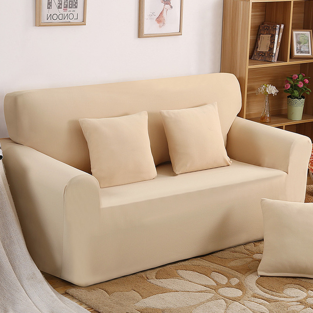 Slipcover Recliner Sofa Movie Theater Near Me Simple And Elegant One Seater Cover Retro Soft Polyester Spandex Couch Chair