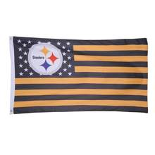 653b011dd 3X5FT Pittsburgh Steelers flag USA star stripe Team Flag Banner Hanging Flags  Pittsburgh Steelers flags Free shipping