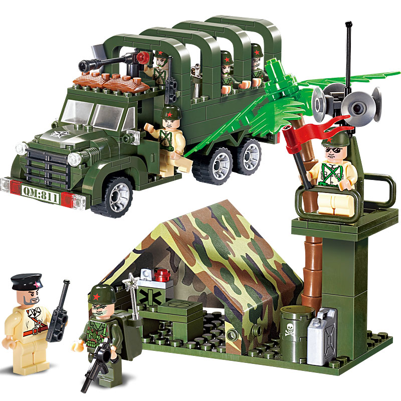 Φωτισμός Στρατιωτικών Εκπαιδευτικών - Κατασκευαστικά παιχνίδια - Φωτογραφία 2