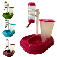 Pet Food Feeder Water Dispenser Durable Plastic Dog Cat Automatic Fountain Drinker Pet Products Suppliers