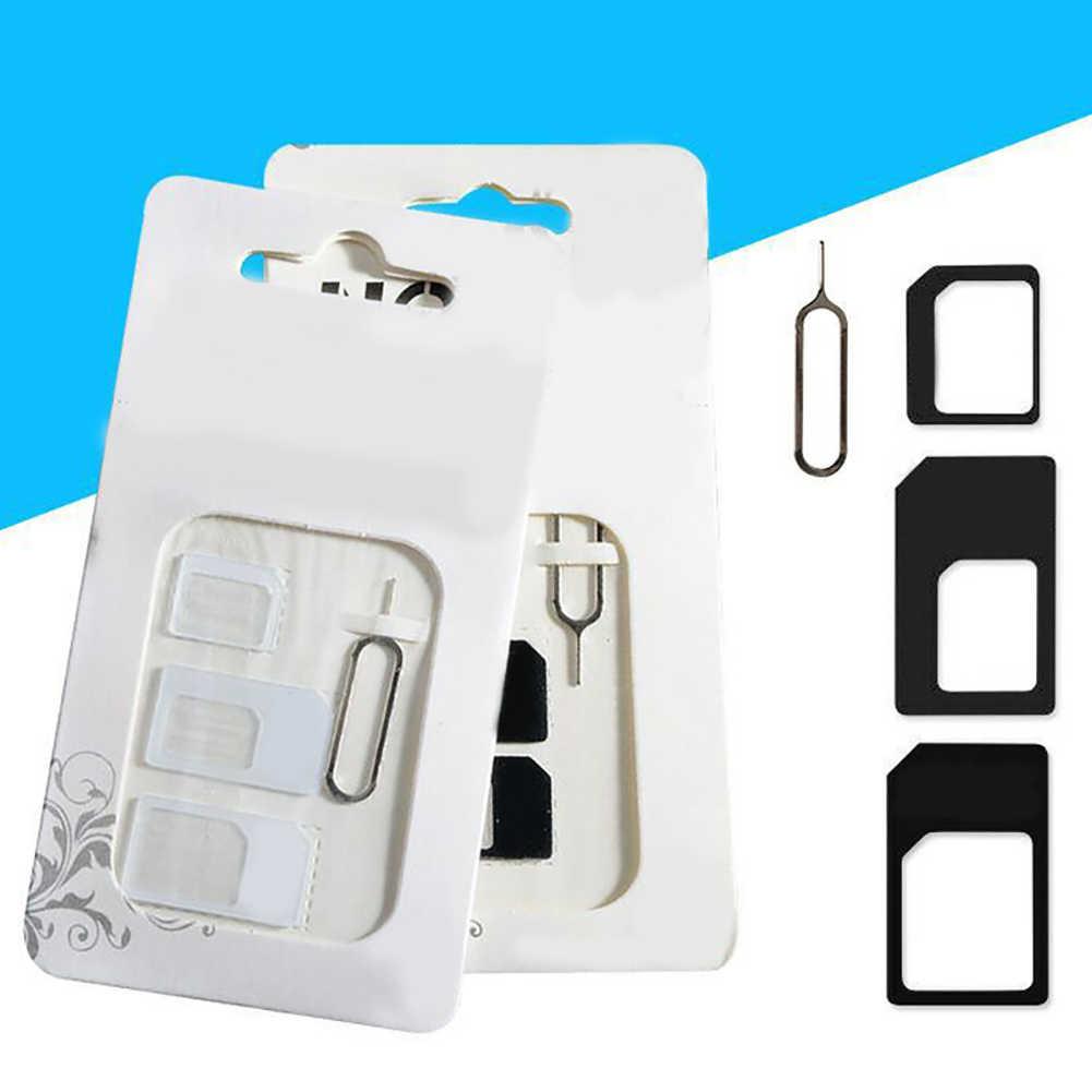 4 шт Универсальный мобильный телефон Nano SIM к микро/новый стандартный адаптер карты конвертер