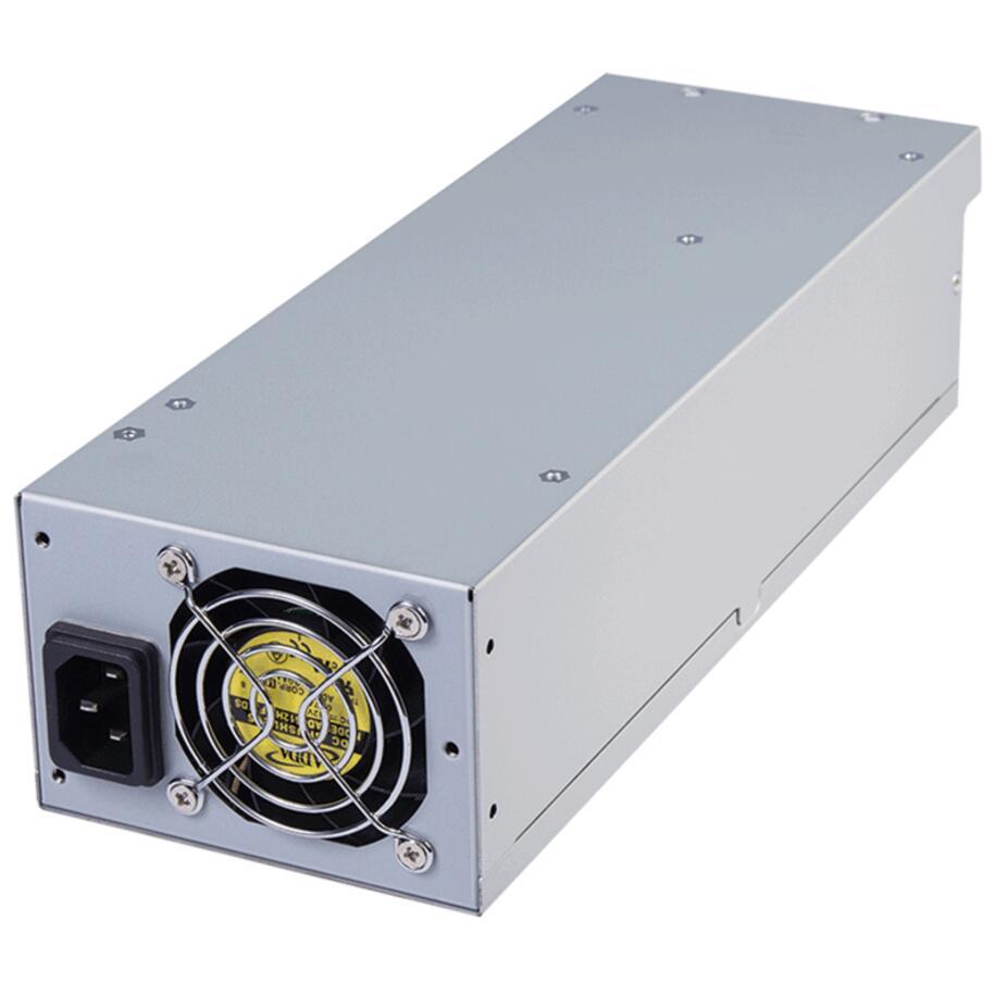 free ship ,server pc power supply SS-600H2U Active PFC 80+ 600W Power Supply PSUSEA600H2U80P,2U 600W server modular power supply enp 2322b rate 220w active pfc 1u server power supply