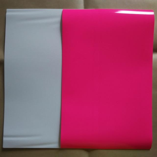 (10pcs=pink 5pcs+white 5pcs) A4 Size PU Flex Vinyl Heat Transfer Paper Vinyl Textile T shirt Vinyl Film Iron On Vinyl Heat Press
