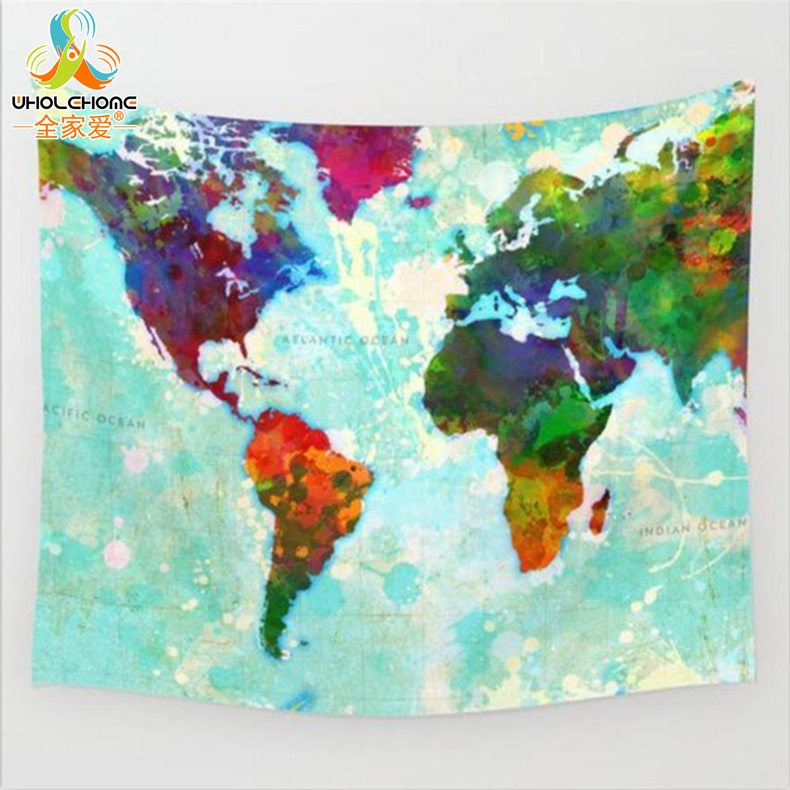 World Map Throw Rug: Aliexpress.com : Buy Boho Mandala Wall Hanging Tapestry