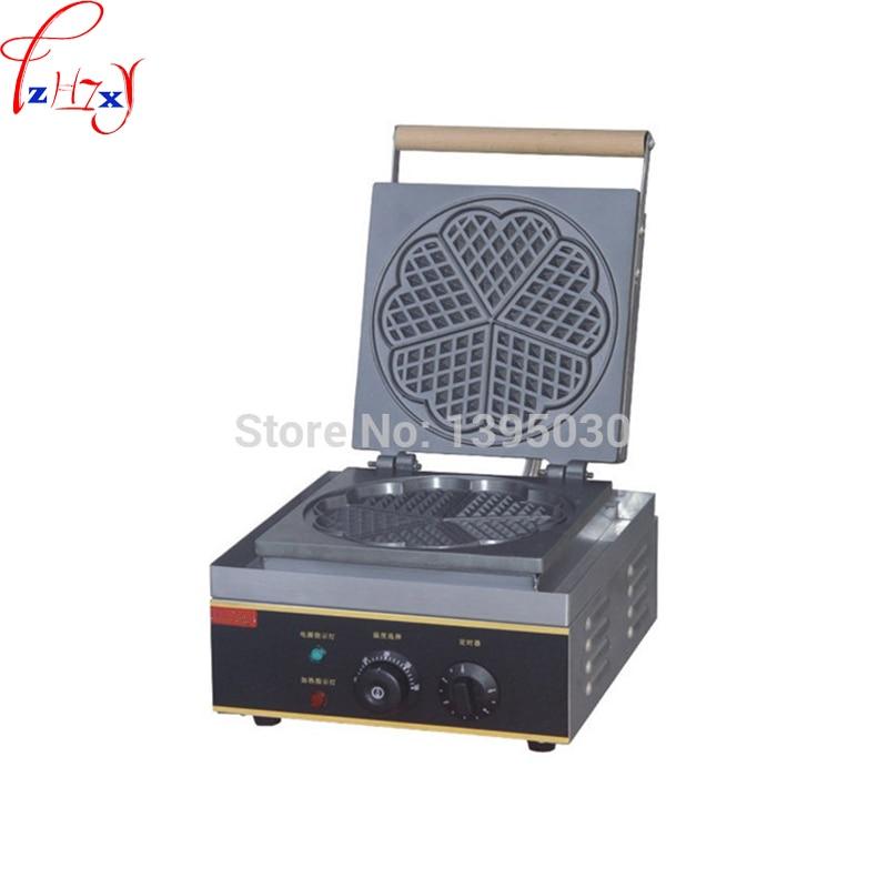 Elektrische Waffeleisen FY 215 Baker Herz Form Mould Plaid Kuchen Ofen Sconced Maschine Heizung Maschine