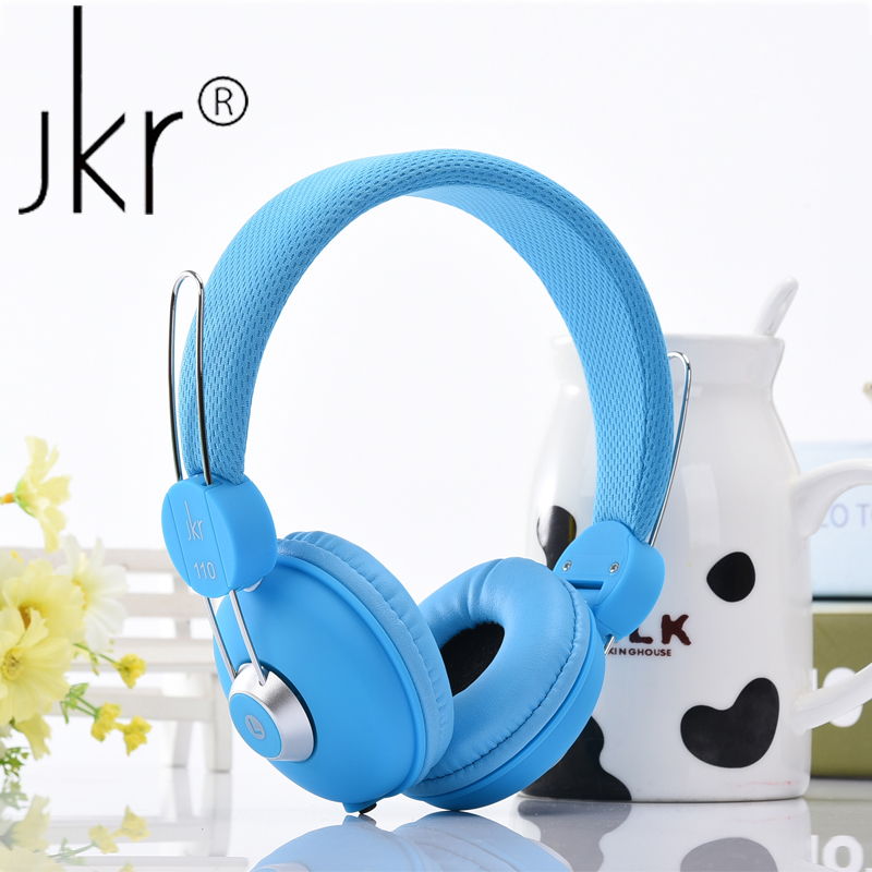 JKR-110 Monitor Music Hifi Common Headphone Headset Without MIC Bass Headsets Noise Cancelling Stereo Headphones For phone PC bone conduction earphones headset over ear headphones active noise cancelling hifi neckband for music listening to the phone