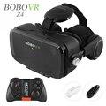 2016 Горячая Google Картон BOBOVR Z4 VR 360 Градусов 3D Просмотра Захватывающий Опыт 4.7 ''-6.2'' Смартфон Виртуальный реальность Очки