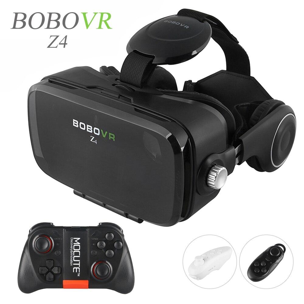 2016 Hot Google Cardboard BOBOVR Z4 <font><b>VR</b></font> 360 Degree 3D <font><b>Viewing</b></font> Immersive Experience 4.7''-6.2'' Smartphone <font><b>Virtual</b></font> <font><b>Reality</b></font> <font><b>Glasses</b></font>
