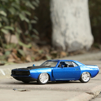JADA 1 32 Scale High Simulation Alloy Model Car 1972 Plymouth Metal Cars High Quality Toy