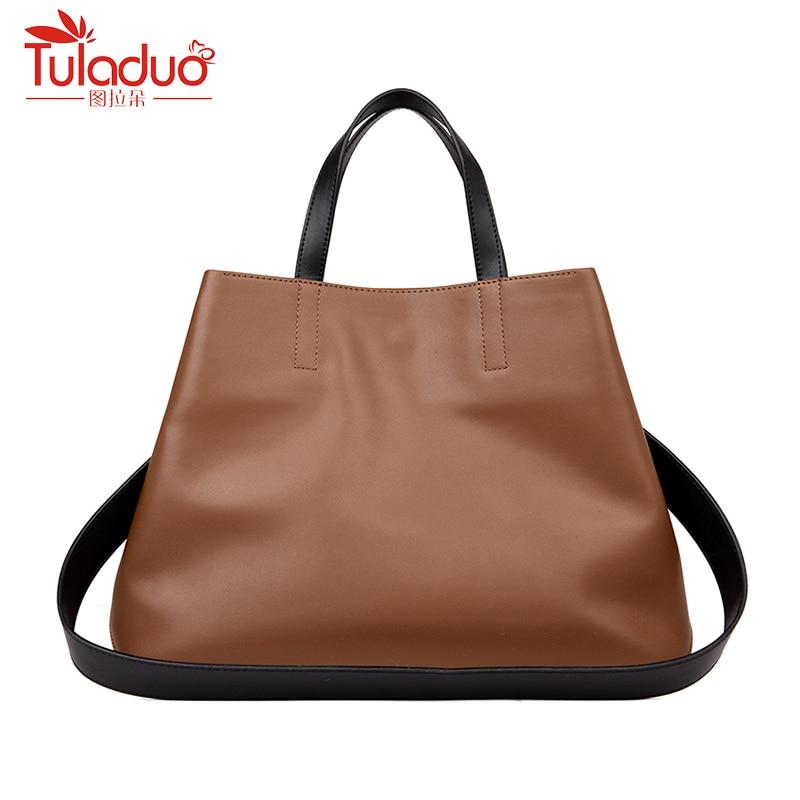 Brand Genuine Leather Tote Bag Women Shoulder Bags Women Handbags Luxury Handbags Women Large Bags Designer High Quality Sac