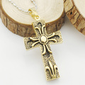 6.7CM*3.3CM Vintage Punk Egypt Style Cross Pendants & Necklaces Fashion Men's High Quality Jewelry Free Shipping WP1309
