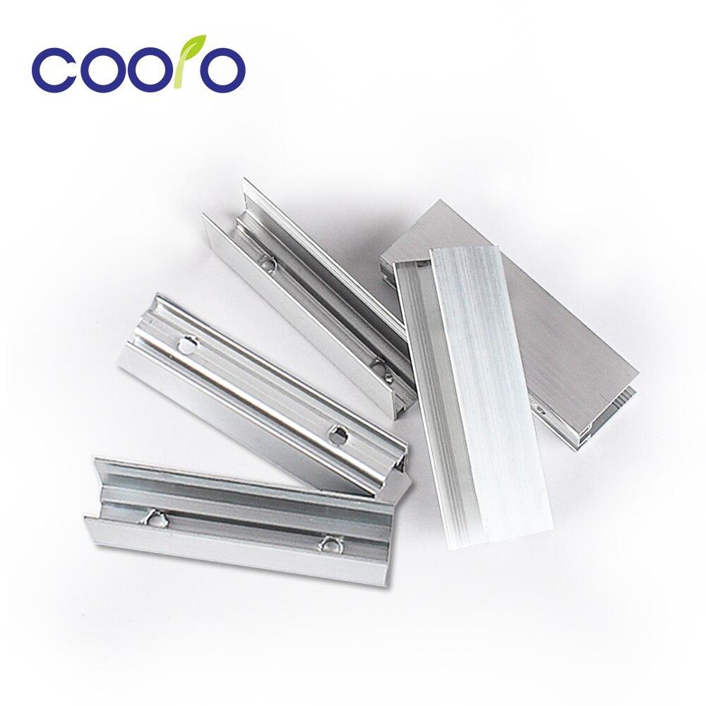 Tira de néon led luz de alumínio montagem clipes perfil titular clipe para 12 v 220 v 2835 flexível led neon corda suave barra luz