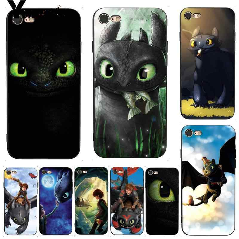 How To Train Your Dragon desdentado Yinuoda Acessórios Do Telefone para o Caso do iphone 7X6 8 6S Plus 5 XS XR11 11pro 11promax
