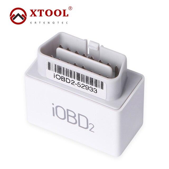 Xtool iOBD2 MFi BT OBD2/EOBD2 Сканер Для IOS и Android XTool iOBD2 Bluetooth Wi-Fi Сканер Поддерживает OBDII Протоколы