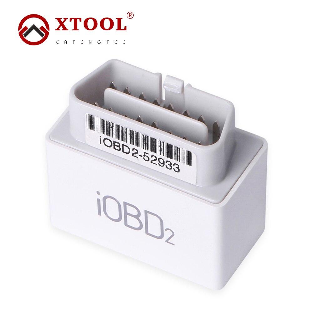 imágenes para Xtool iOBD2 MFi BT OBD2/EOBD2 Escáner Para IOS y Android XTool iOBD2 Bluetooth Wifi Escáner Soporta Los Protocolos de OBDII