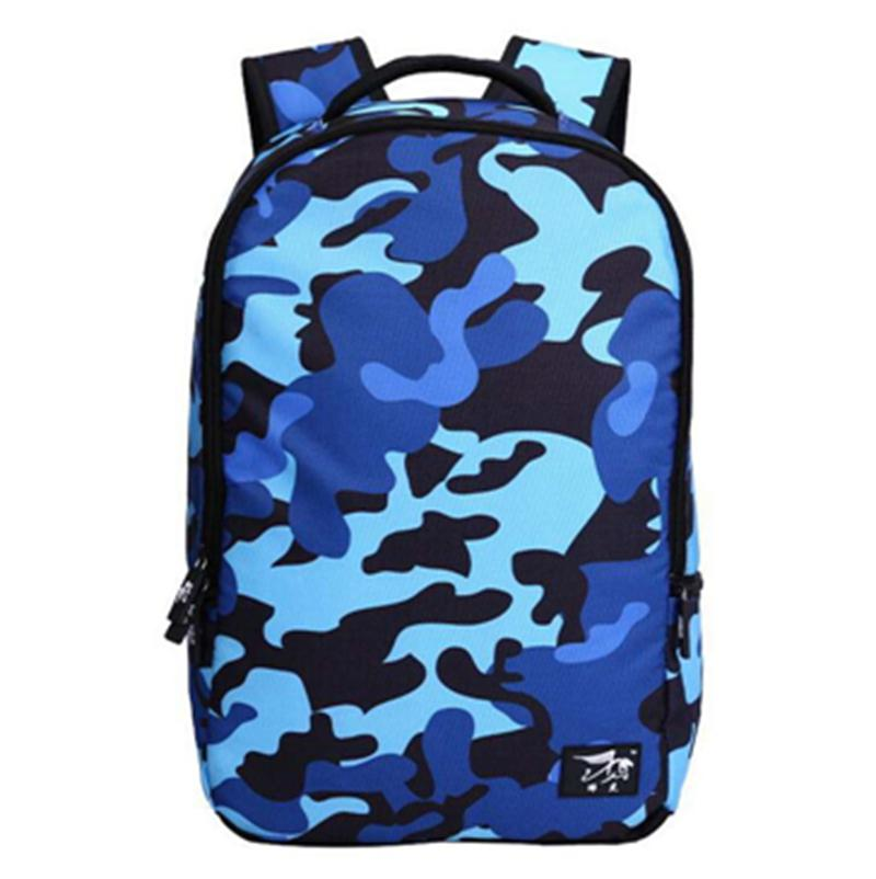 Stile Sacchetto Giovani Innovativo Studenti Mounchain Esterno Zaini I Del 800g Camouflage Blue Patterning Progettato Per Di Color Fresco Blu gpq0Sw