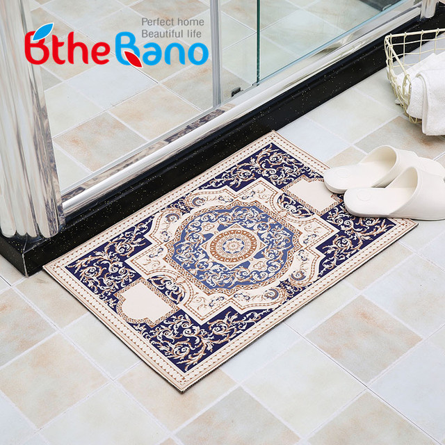 Vintage Bathroom Mat tapis salle de bain Bathroom carpet Rugs Non ...