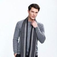2017 Estilo KBB Primavera Caliente Knit Warm Adultos Rayas de Moda accesorios Bufandas chales de Invierno para Hombres de Las Mujeres Adolescentes