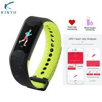Kinyo Medical level Sport Smart Bracelet Heart Rate 24H Tracker Health Fitness Blood Oxygen Wristband Sleep Smart Watch Men B31