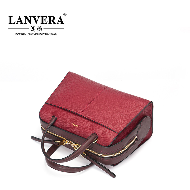 New Arrival Fashion Design Women Totes Luxury Brand Genuine Leather Shoulder Bag