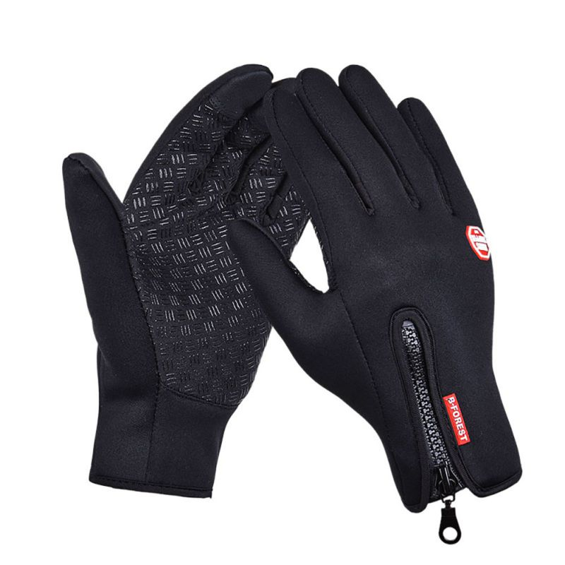 Unisex Touchscreen Winter Thermal Warm Cycling Bicycle Bike Ski Outdoor Sports Camping Hiking Motorcycle Full Finger Gloves