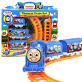One Set Thomas train electric eight rail cars 8 tracks Friends Mini Electric Train Set Track Toy