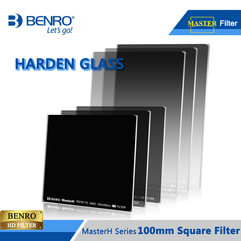 BENRO Master Harden 100mm Filter GND ND Harden Glass Square HD Filter WMC ULCA Coating Filters DHL Free Shipping