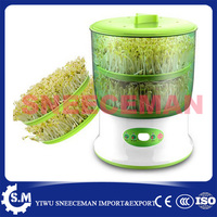 2layers Home Use Intelligence Bean Sprouts Machine Large Capacity Thermostat Green Seeds Growing Automatic Bean Sprout