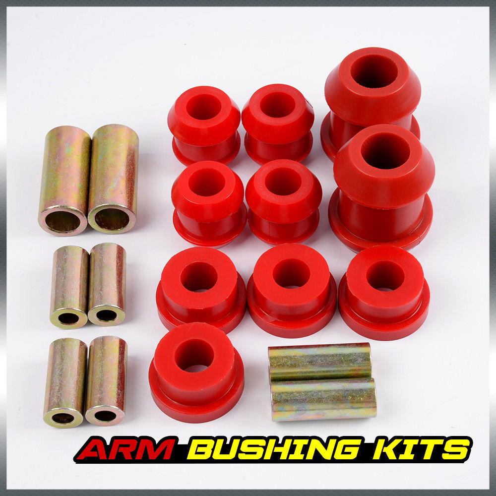 US Shipping Front Upper & Lower Control Arm Bushing Kit For Honda Civic EG  Red 92 95-in Steering Wheels & Steering Wheel Hubs from Automobiles &  Motorcycles ...