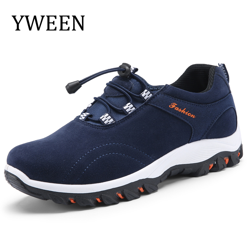YWEEN Spring Summer Men Casual Shoes Slip-On Style Fashion Sneakers Breathable Man Shoes Hot Sales 2018 branded men s penny loafes casual men s full grain leather emboss crocodile boat shoes slip on breathable moccasin driving shoes