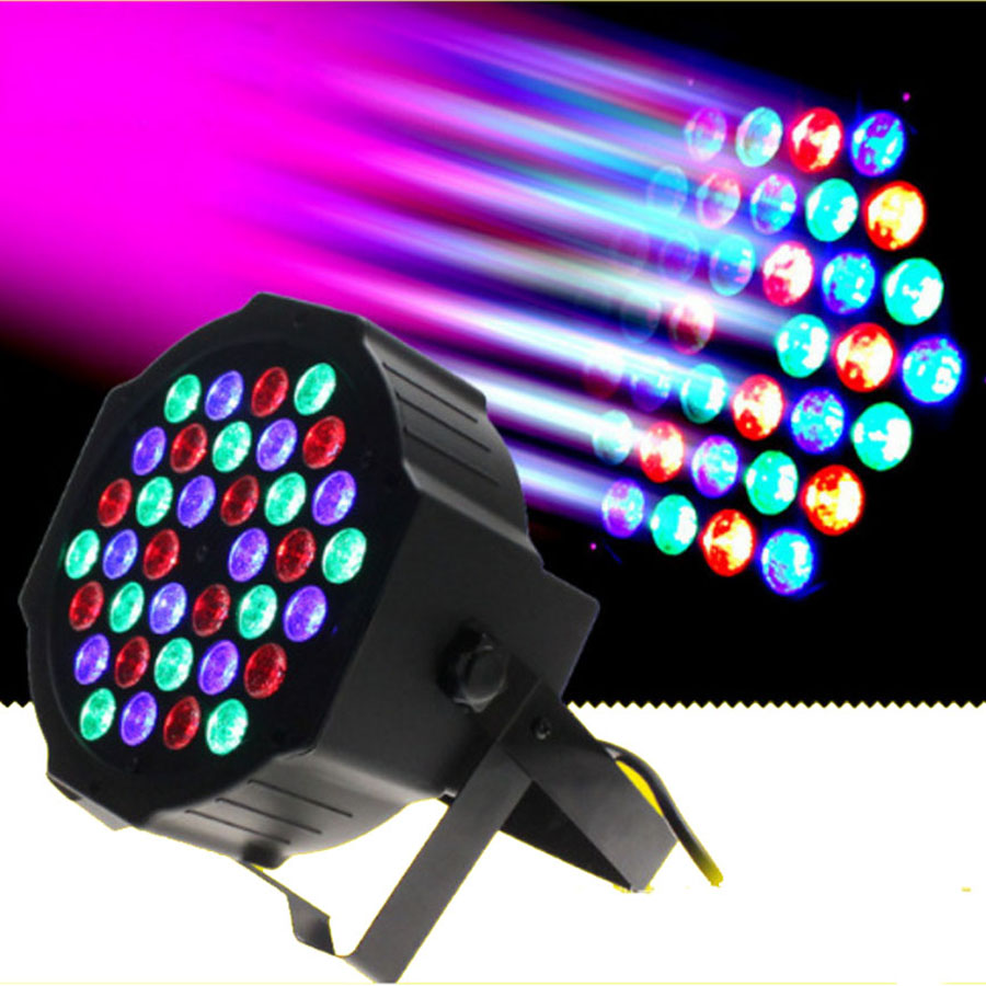 Brand New DJ Up Lighting Wash Light with RGB 36 LEDs Stage Light Controlled DMX Control Best for Karaoke Club Disco Bar Wedding in Stage Lighting Effect from Lights Lighting