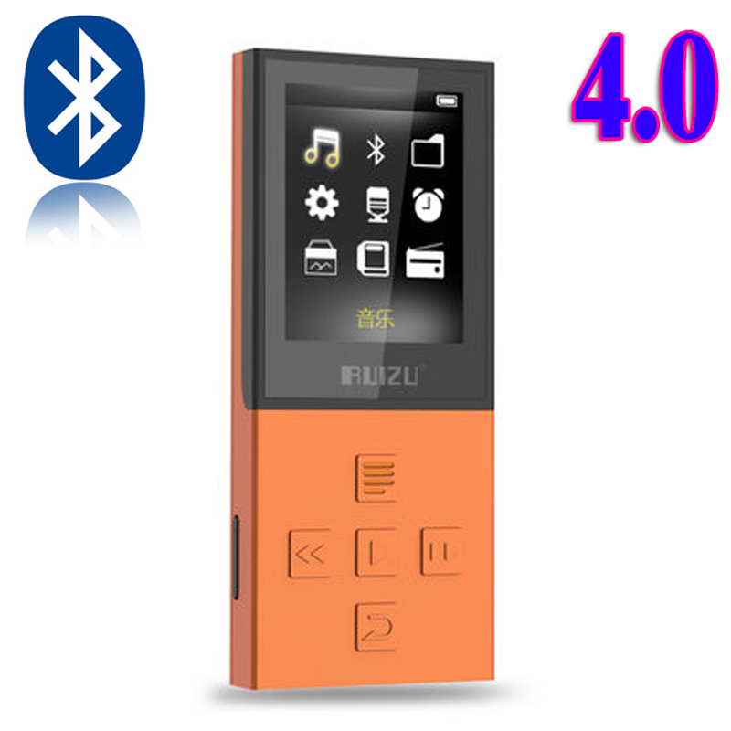 2017 New Bluetooth MP3 RUIZU X18 Sport MP3 Player with 8G Can Play 100 Hours High