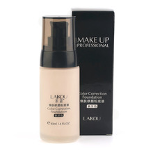 Whitening Flawless Coverage Fluid Liquid Foundation Concealer Moisturizer Oil-control Long Lasting Waterproof Makeup Cosmetics